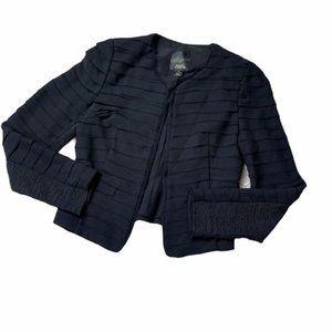 McGinn Black Long Sleeve Blazer Jacket Size 6